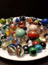 Antique marbles various colors and sizes and makers aprx 250 -300