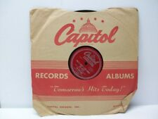 Tex Williams 78 RPM Downtown Poker Club & That's What I Like About The West
