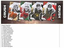 CRUSH COMPLETE SET OF 15 CARDS Topps NHL Skate Digital Card