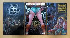 NIGHT OF THE LIVING DEAD Vol 1 2 & 3 - TPB Graphic Novel Lot (Avatar Press)