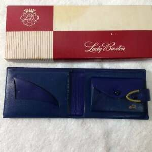 NOS Vintage Lady Buxton Blue Wallet New in Box