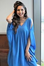 Womens Free Size Party Dress Prom Cocktail Evening Dresses Formal Blue Top