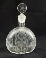 Vintage Vetri Murano Murano Perfume Decanter Bottle 4-3/8H x 3-3/4W Never Used