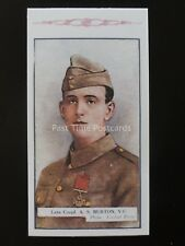No.193 A.S. BURTON Great War Victoria Cross Heroes 8th S. REPRO Gallaher 1918