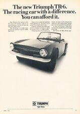 Vintage Advertisement Car Print Ad J397 1974 Triumph TR-6 TR6