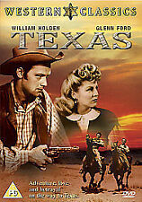 Texas Dvd William Holden Brand New & Factory Sealed