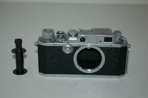 Canon IIS2 /2s2 RARE 1955 Japanese Rangefinder Camera. Service. 183752. UK Sale