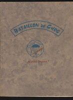 █ BATAILLON DE CHOC 1961 Maurice Guernier De Lattre de Tassigny Yves Brayer █