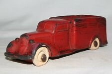Rainbow Rubber, 1935 Studebaker Stake Truck, Red, Original