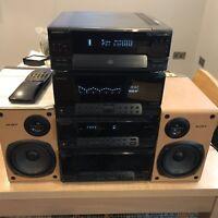 KENWOOD UD-952 MIDI HI-FI Seperates Stereo System Black, App 1997 (Top Of Range)