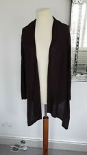 "LONG BOLERO/SHRUG *MONSOON*SIZE 14 ""SMALL STITCH NEEDED"""