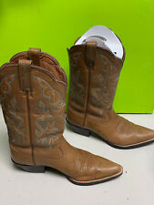 excellent ARIAT western boots ats brown leather women's 7.5B 7 1/2 B