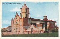 Postcard San Luis Rey Mission California