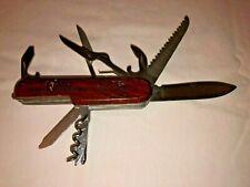 "TSA CONFISCATED SWISS ARMY STYLE POCKET KNIFE ""GTMO GUANTANAMO BAY, CUBA"""