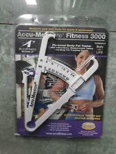 Accu Measure Fitness 3000 Personal Body Plicometro bodybuilding