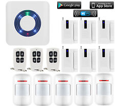 V06 2.4G WIFI IP Internet APP Smart Wireless Home Security Alarm Burglar System