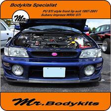 STi PU Plastic Subaru Impreza/WRX/STi GC8 1997-2001 Front Bumper Lip,Lip/Spoiler