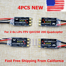 4x30A Brushless Littlebee Blheli-S ESC For 2-6s LiPo FPV QAV250 200 Quadcopter