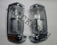 Turn Signal Corner Front Lamp Light White lens for 90-92 Nissan D21 BDI90 Pickup