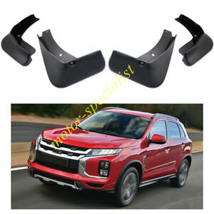 Black Car Mud Flaps Splash Guard Fender For Mitsubishi Outlander Sport 2020-2021