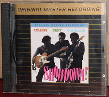 MFSL GOLD CD UDCD-620: COLLINS, CRAY & COPELAND - Showdown - 1995 OOP UDII USA