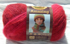 Lion Brand Amazing Yarn in Roses - New, Worsted Wt., Non-Smoking Home