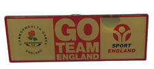Go Team England Commonwealth Games Sport England Red Yellow pin badge