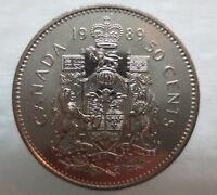 1989 CANADA 50¢ HALF DOLLAR COIN BRILLIANT UNCIRCULATED COIN