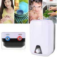Instant Hot Water Heater Electric Tankless On Demand House Shower Sink 1500W