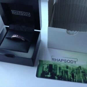 'Rhapsody' Fabulous  1ct AAAA Pink Sapphire half eternity 950 Platinum