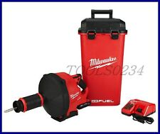 New Milwaukee 2772A-21 M18 Fuel Drain Snake w/ Cable Drive Kit Free Shipping