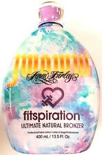 Jwoww Fitspiration Natural Dark Bronzer Tanning Bed Lotion 13.5oz