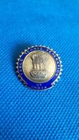 vintage ENAMEL  pin badge INDIA TABLE TENNIS FEDERATION