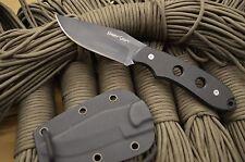 THUNDER BASIN '' NIGHT SHIFT ''AUS-8 STEEL  BOOT KNIFE USA-T106 W / KYDEX SHEATH