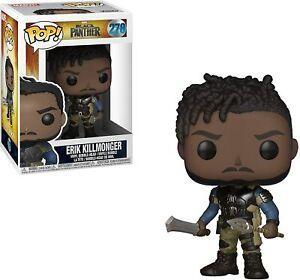 Funko Pop!  Black Panther Erik Killmonger Vinyl Figure Bobble-head #278 23350