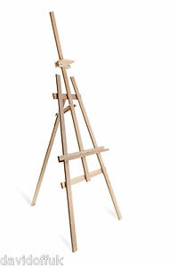 STUDIO Easel 1800mm High Art  Wooden Portable Painting CRAFT Drawning Display S1