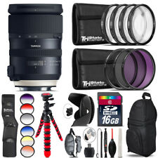 Tamron 24-70mm VC G2 for Nikon + Graduated Color Filter - 16GB Accessory Kit