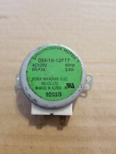 Microwave Synchronous turntable Motor  GM-16-12F17  6 rpm