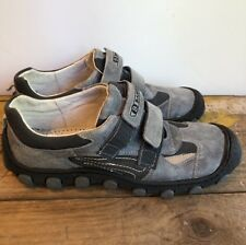 Bartek Big Boys Shoes Size Us 7.5 Or Eu 40 Teenager Sneakers Casual Leather Gray