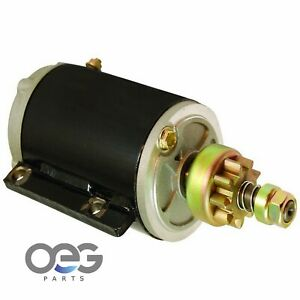 New Marine Starter For Evinrude Johnson OMC 35 40 50 60 70 HP Outboard 1960-1985