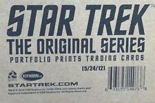 STAR TREK ORIGINAL SERIES - TOS - PORTFOLIO PRINTS Factory Sealed Case 12 Boxes