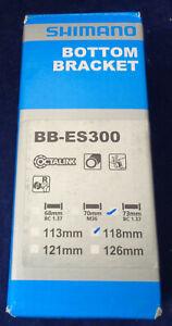 Shimano BB-ES300 Octalink BSA Bottom Bracket Various Sizes