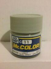 Gunze Sangyo/Mr Color acrylic paint C-11 Light gull grey 10ml.