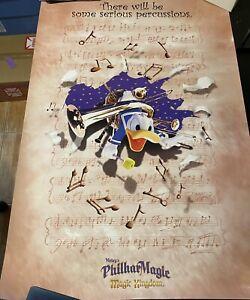 Disney World Magic Kingdom Mickey's PhilharMagic Attraction Poster Donald Duck 3