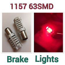 1157 2057 3528 RED SMD LED Bulb Car Brake Stop Lights Lamp AW