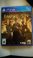 Empire of Sin (PS4 / Playstation 4)