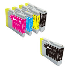 5 New Ink Cartridges use for Brother LC51 BCMY MFC 230C 240C 440CN 465CN 665CW