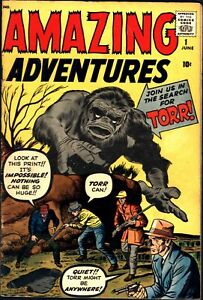 Amazing Adventures #1 Silver Age Atlas 4.5