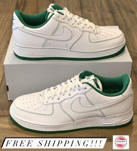 Nike Air Force 1 '07 Pine Green White CV1724-103 Men's Size 13 NEW- NO BOX TOP