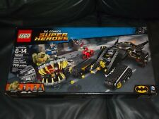 Lego DC Comics Super Heroes Batman Killer Croc Sewer Smash 759pcs 76055 New